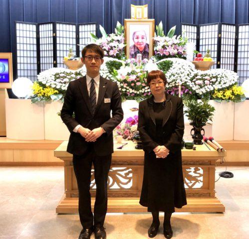 北区 平安会館 名古屋斎場 ご親族との集合写真
