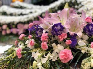 名古屋市守山区 守山斎場 お供えの花