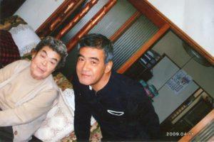 名古屋市守山区 守山斎場 長男様とお母様の写真
