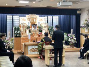 名古屋市北区 名古屋斎場 焼香 家族葬