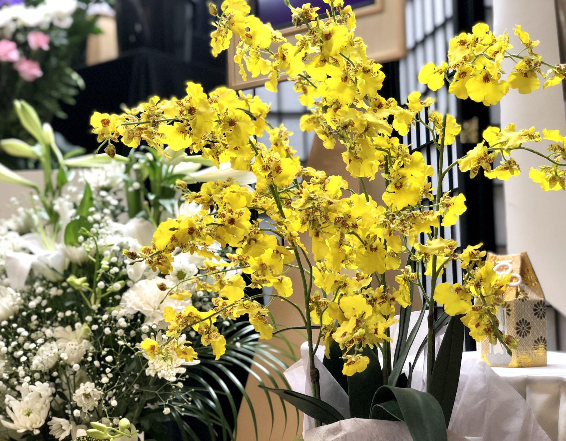 名古屋市北区 平安会館 名古屋斎場 生花 お花