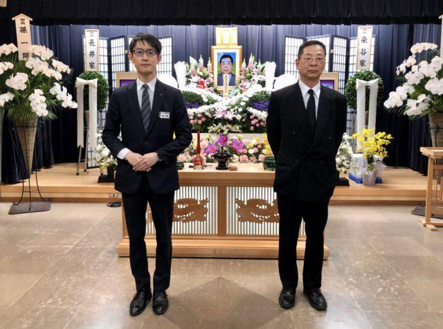 名古屋市北区 平安会館 名古屋斎場 集合 写真 家族葬