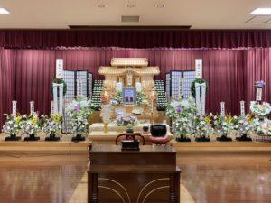 名古屋市南区 笠寺斎場 祭壇