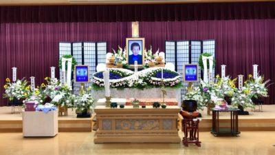 名古屋市港区 平安会館 南陽富田斎場 祭壇