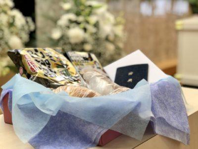 名古屋市港区 平安会館 南陽富田斎場 お飾りの品々