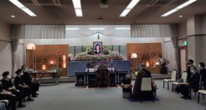 知多市 八幡チタソーホール 通夜式