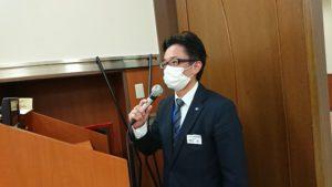 名古屋市名東区 名東猪高斎場 マスク着用