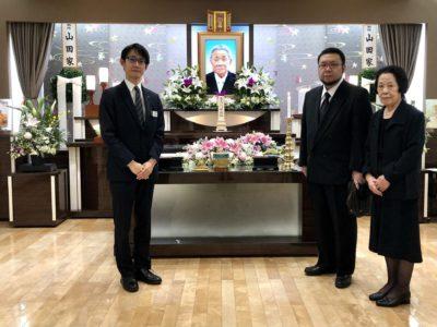 名古屋市中村区 平安会館 家族葬の栞 本陣 集合