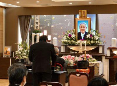 名古屋市中村区 平安会館 家族葬の栞 本陣 焼香