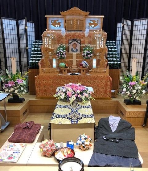大府斎場祭壇写真