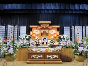 名古屋市緑区 有松斎場 祭壇